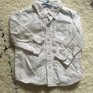 Janie and Jack white button down